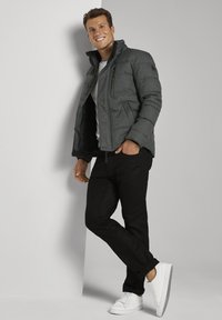 TOM TAILOR - Winterjas - mid grey structure - 1