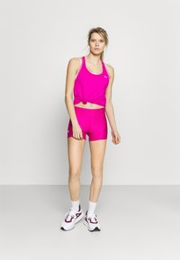 Under Armour - MID RISE SHORTY - Leggings - meteor pink - 1
