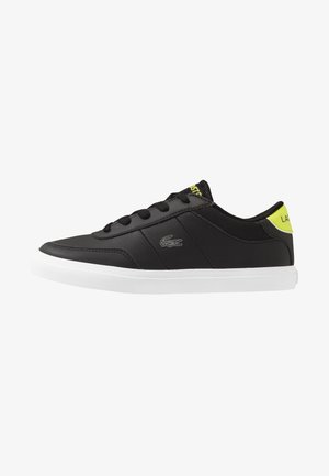 COURT-MASTER - Trainers - black/light green