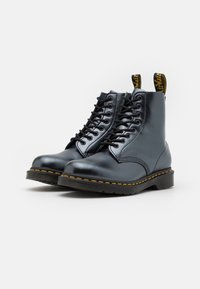 Dr. Martens - 1460 PASCAL UNISEX - Lace-up ankle boots - silver chroma - 1