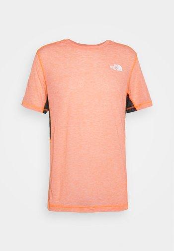 CIRCADIAN TEE - T-shirt med print - orange