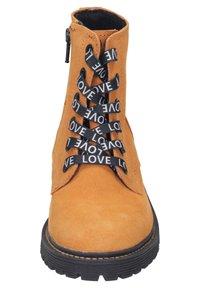 Vado - Lace-up ankle boots - orange - 5