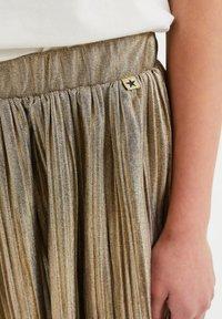 WE Fashion - A-line skirt - gold - 2