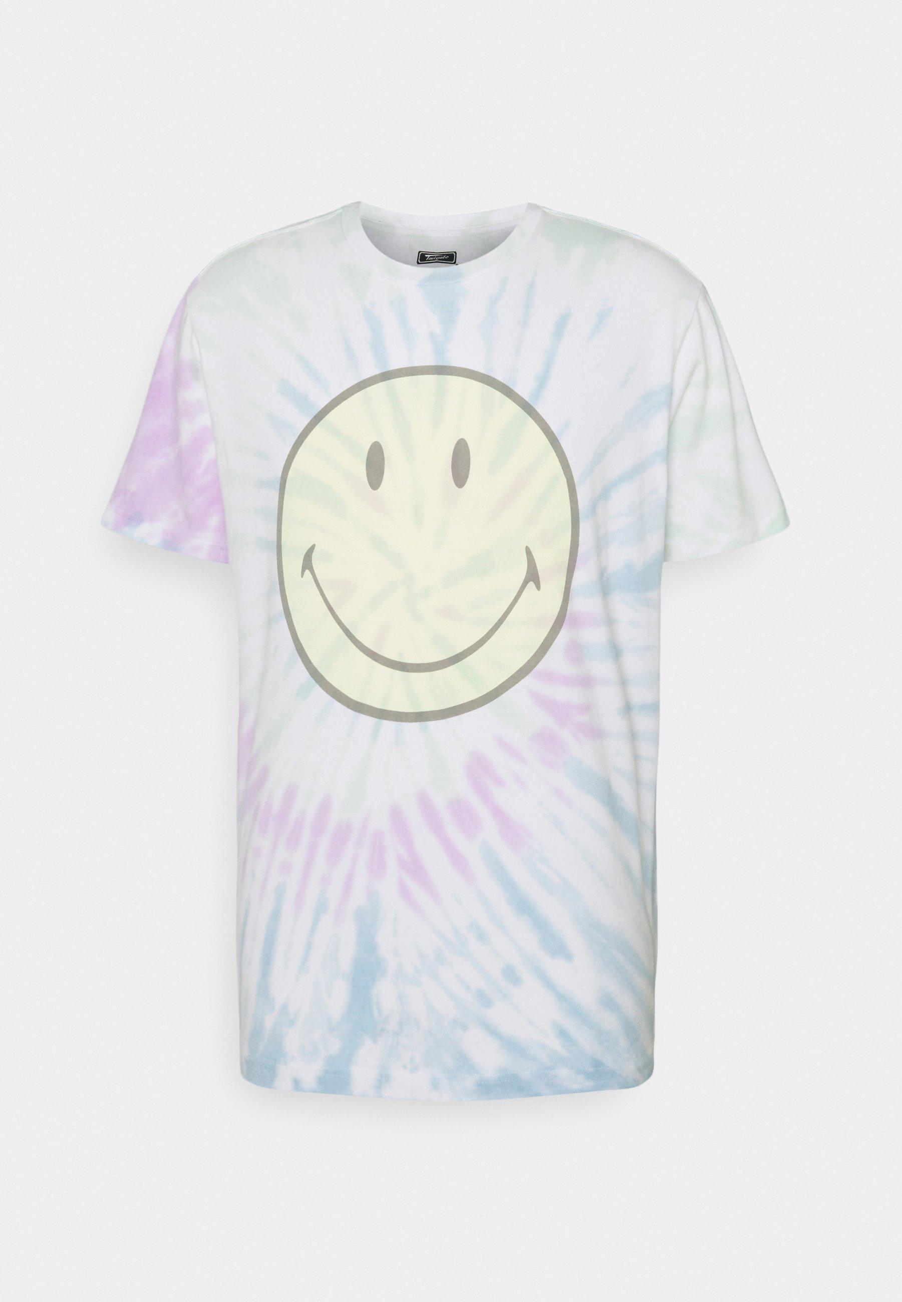 Men PRIDE SPIRAL TIE DYE - Print T-shirt