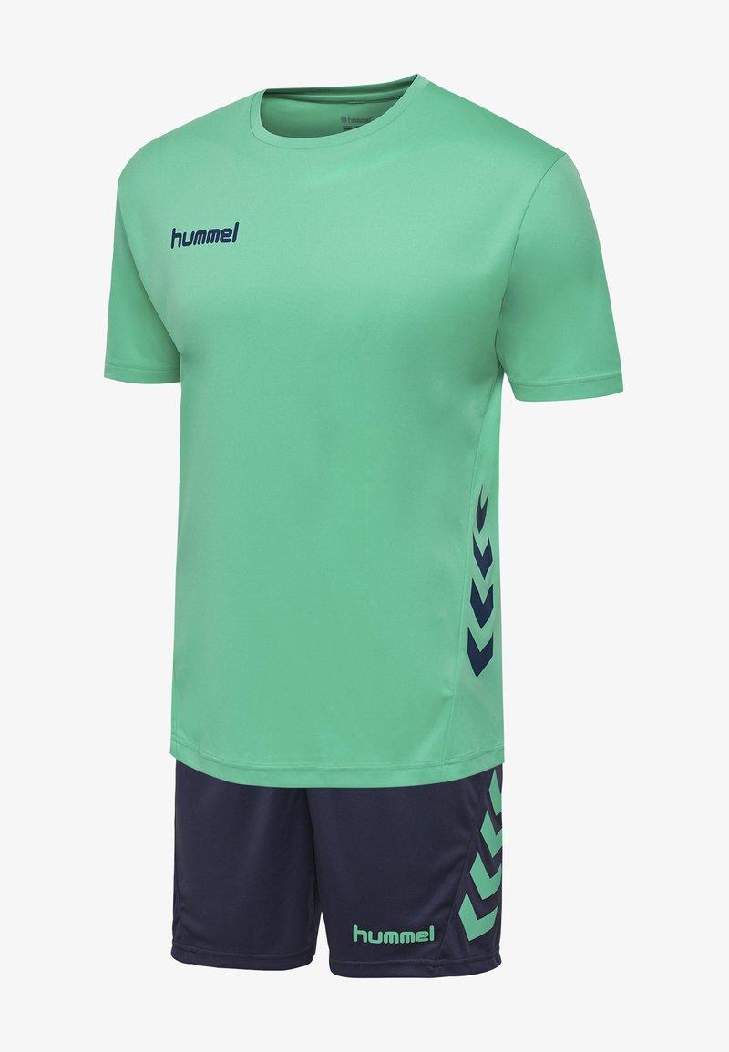 Hummel - DUO SET - Sports shorts - atlantis/marine