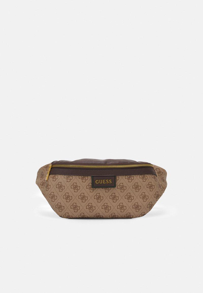 Guess - VEZZOLA PRINT UNISEX - Bum bag - brown