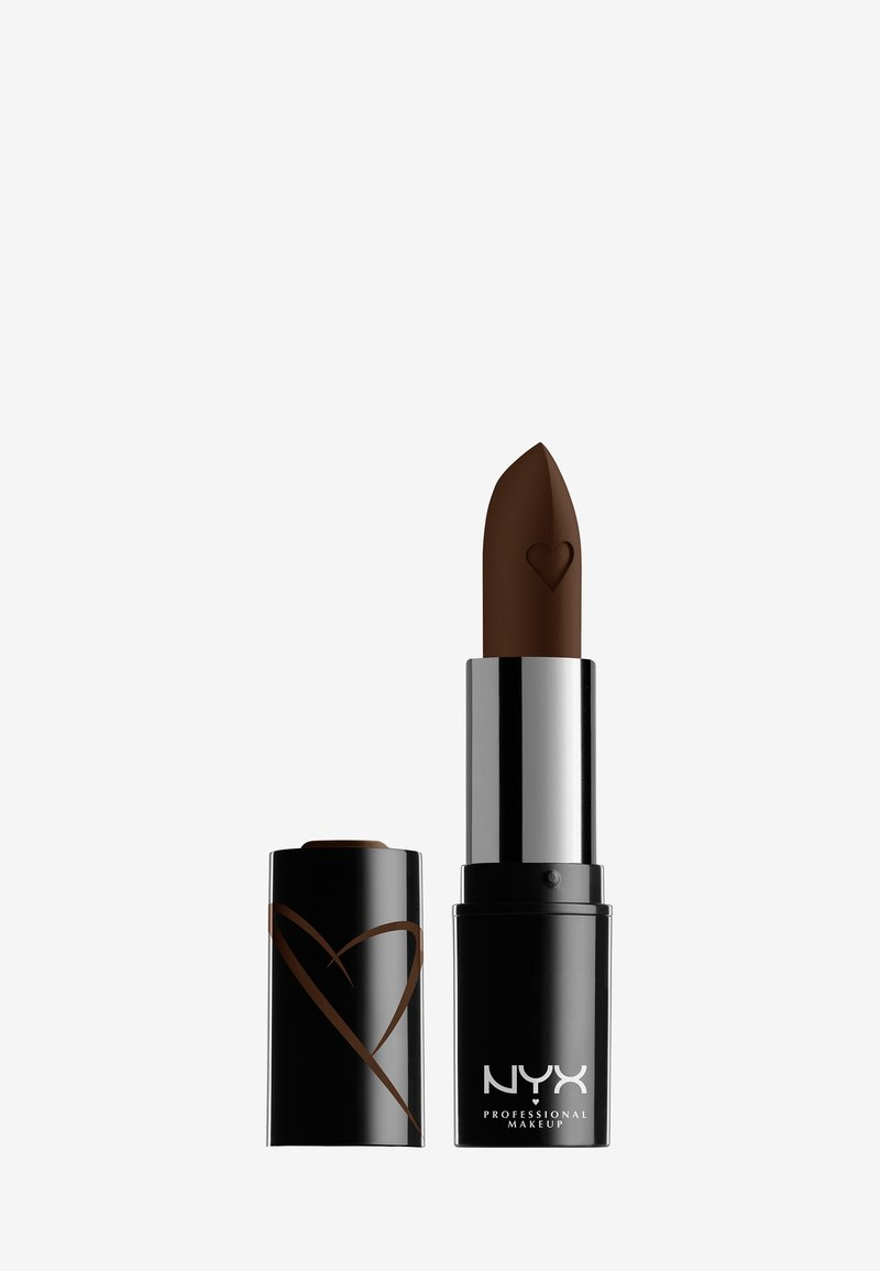 Nyx Professional Makeup - SHOUT LOUD SATIN LIPSTICK - Lipstick - grind