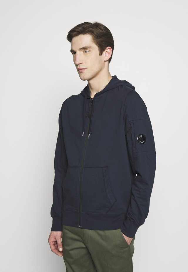 ZIP HOODIE - Collegetakki - total eclipse
