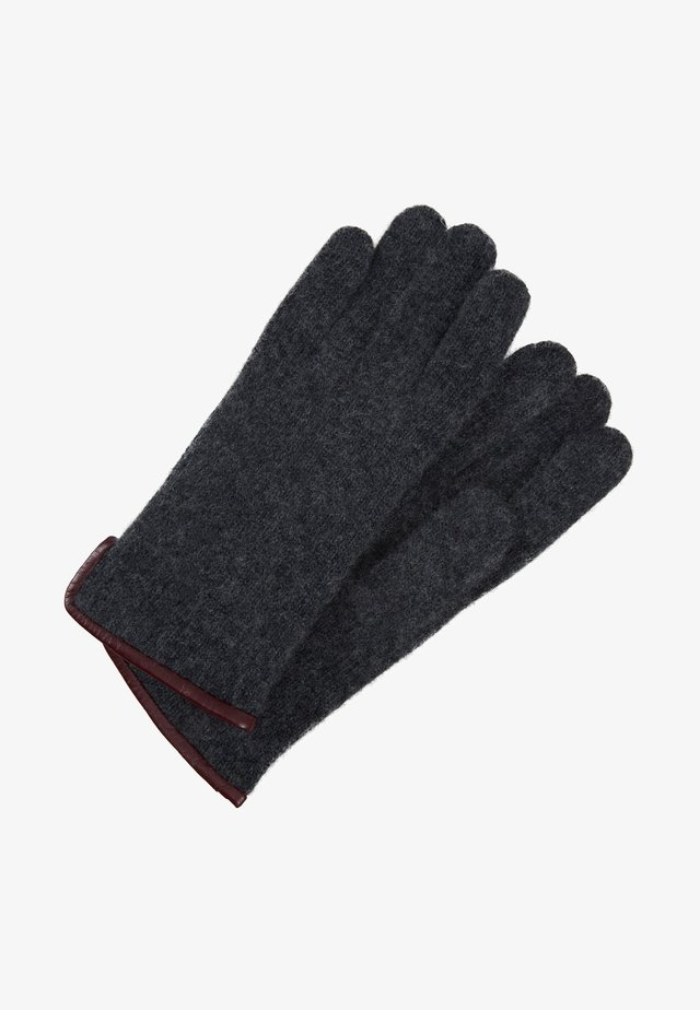 MASCHA - Gloves - grey melange/tokay