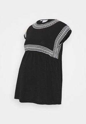MLSLOAN - Print T-shirt - black/snow white