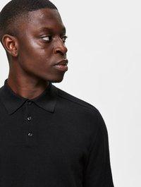 Selected Homme - PIMA - Polo shirt - black - 3