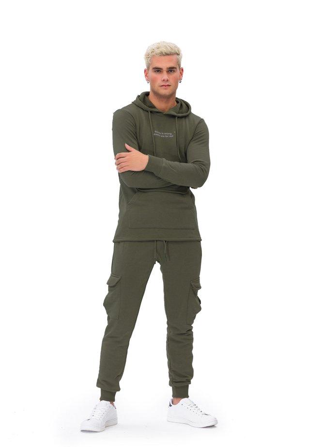 JUMPSUIT MAN TRACKSUITS - Trainingspak - green