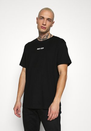 RELAXED PRINTED  - Print T-shirt - black