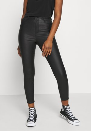 VMLOA COATED PANT  - Bukse - black
