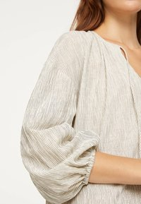 OYSHO - Jersey dress - white - 4