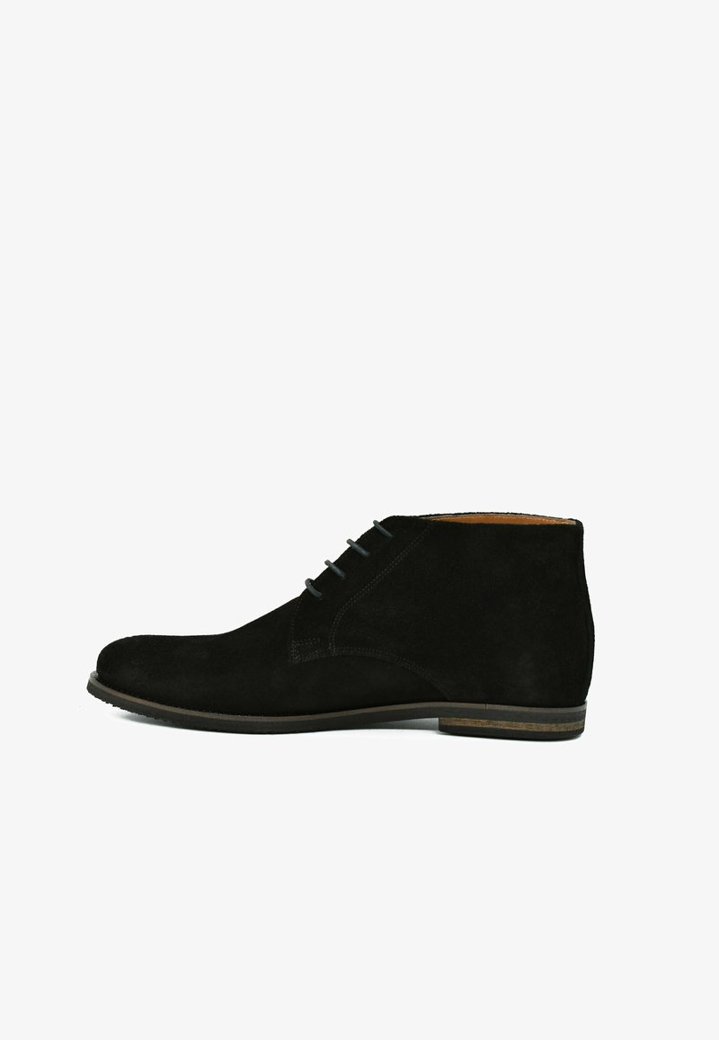 Fertini - Lace-up ankle boots - nocturne black