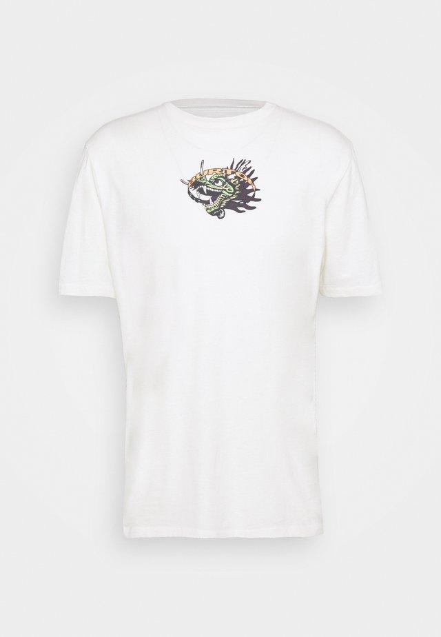 GARNET TEE  - T-shirt imprimé - stout white