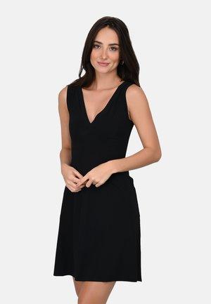 SAVANA - Korte jurk - black