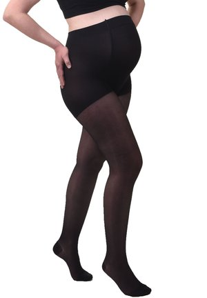 SEMI TRANSPARENT MEDIUM COMPRESSION - Panty - black