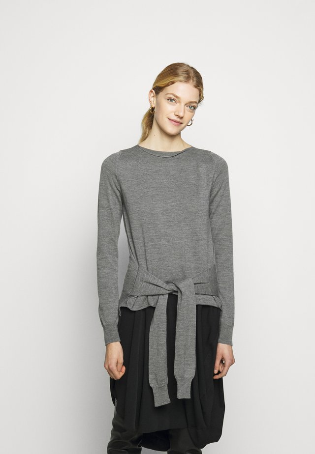 Jumper - melange grey