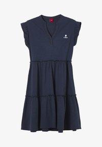s.Oliver - ROBE - Jersey dress - dark blue - 0