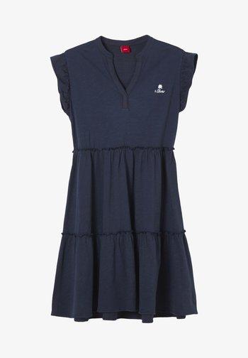 ROBE - Jersey dress - dark blue