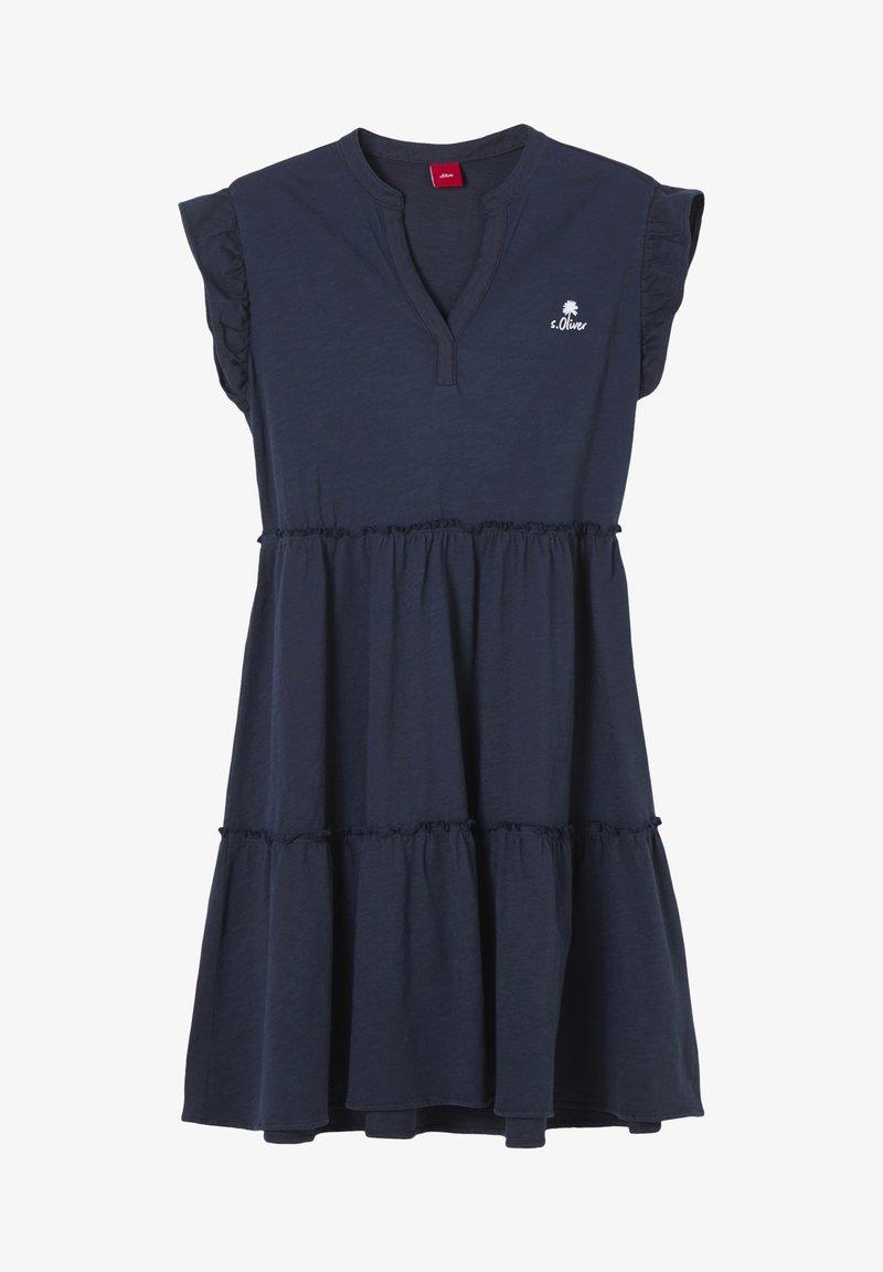 s.Oliver - ROBE - Jersey dress - dark blue