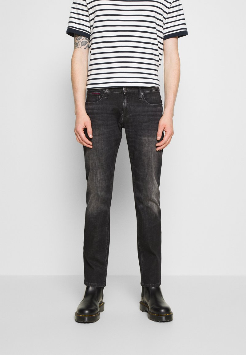 Tommy Jeans - SCANTON SLIM - Slim fit jeans - grey denim