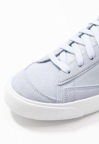 Nike Sportswear - BLAZER MID '77 UNISEX - High-top trainers - hydrogen blue/white/black - 5