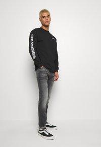 G-Star - 4101 LANCET SKINNY - Jeans Skinny Fit - elto Black vintage basalt destroyed - 1