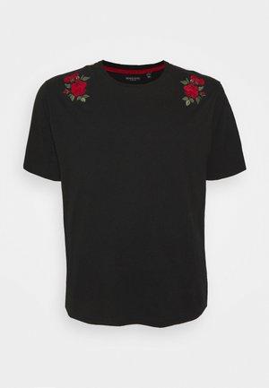 LANT - T-shirt print - jet black
