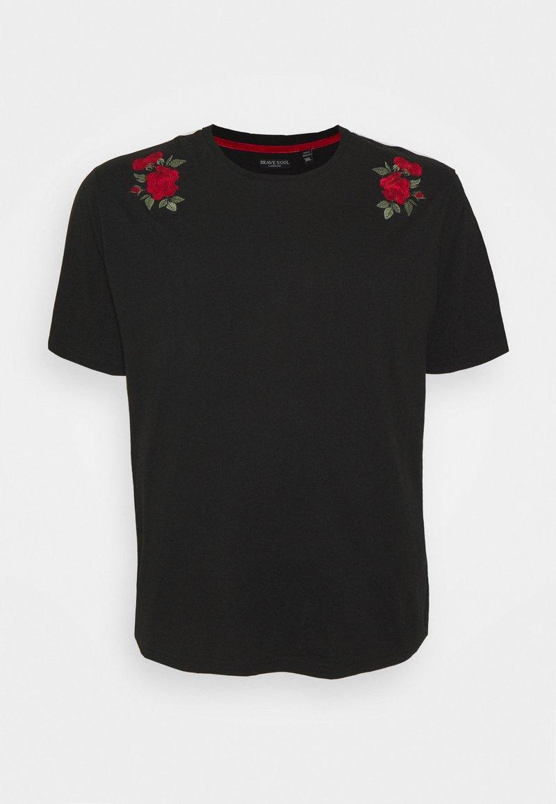 Brave Soul - LANT - Print T-shirt - jet black