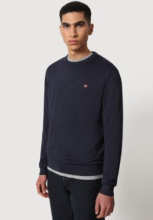 DROZ - Stickad tröja - blu marine