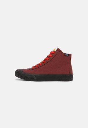 Sneakers hoog - burgundy