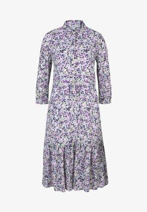 Shirt dress - lilac