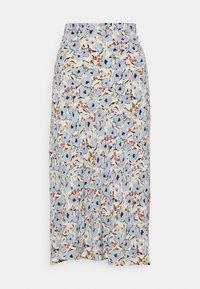 Soaked in Luxury - SLIDE SKIRT - Maxi skirt - blue - 0