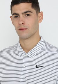 Nike Golf - DRY ESSENTIAL STRIPE - Funktionströja - white/black - 3