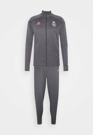 REAL MADRID AEROREADY FOOTBALL TRACKSUIT SET - Club wear - grey