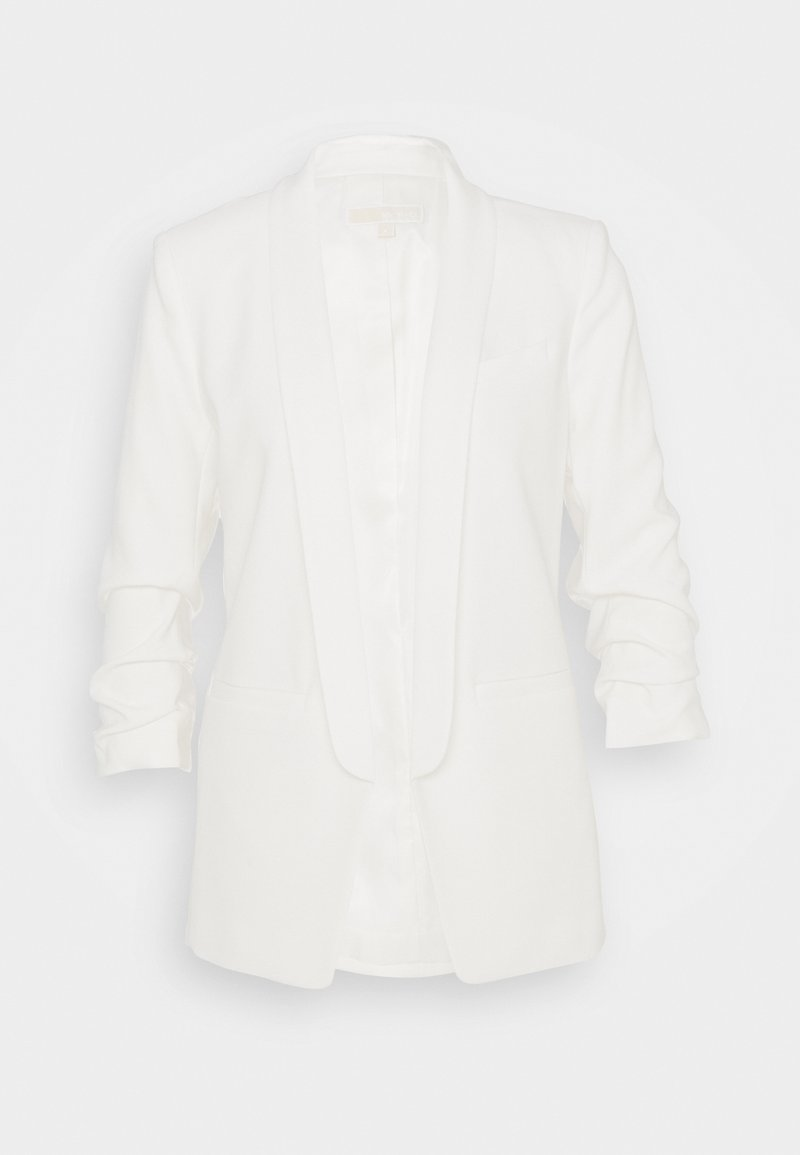 MICHAEL Michael Kors - ROUCHED SLEEVE  - Blazere - bone