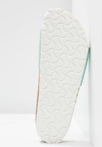 Birkenstock - MADRID - Slippers - metallic aqua - 6
