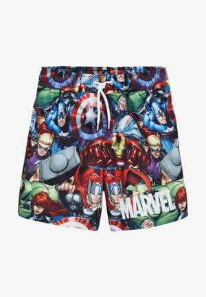 MARVEL PRINTED SWIM SHORTS - Zwemshorts - red