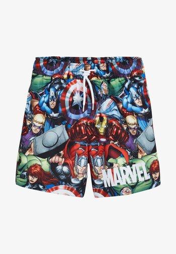 MARVEL PRINTED SWIM SHORTS - Swimming shorts - red