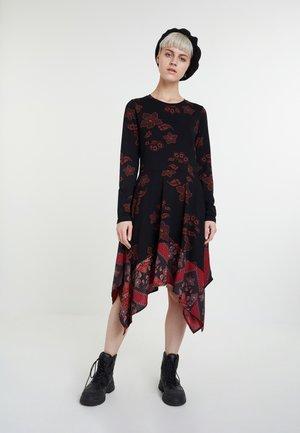 VEST CHICAGO - Jumper dress - red