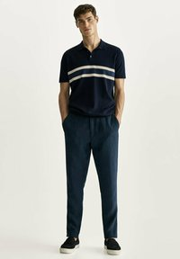 Massimo Dutti - Polo shirt - blue-black denim - 1
