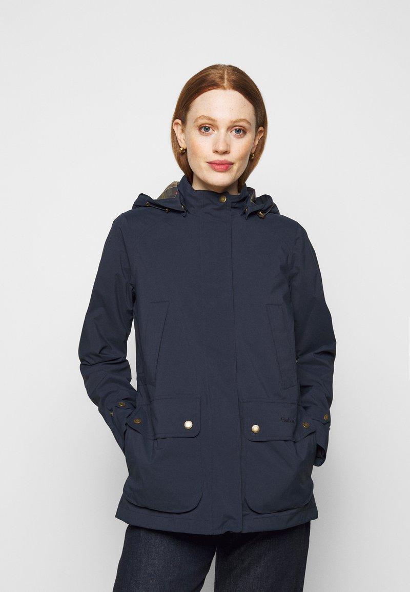 Barbour - CLYDE JACKET - Short coat - navy