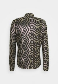 Twisted Tailor - CHEGRIN - Shirt - black/gold - 7
