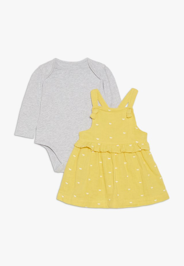 BABY SPOT DRESS - Day dress - yellow