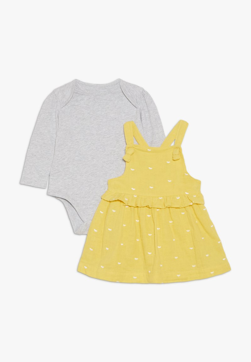 mothercare - BABY SPOT DRESS - Day dress - yellow