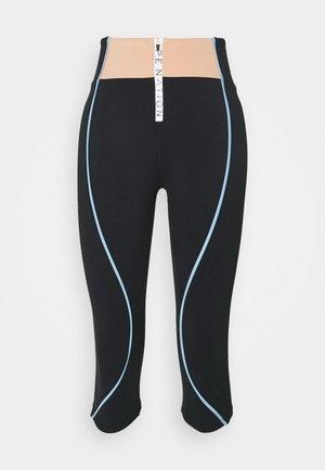 CROSS OVER LEGGING - 3/4 sports trousers - black