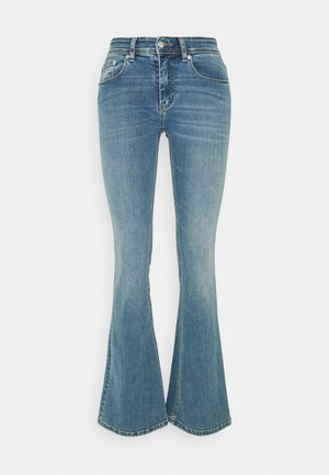 MELROSE - Flared jeans - triple stone